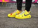 Жіночі жовті кросівки Air force, фото 7