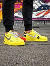 Жіночі жовті кросівки Air force, фото 8