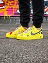 Жіночі жовті кросівки Air force, фото 9