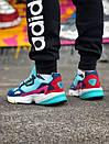 Жіночі замшеві кросівки Adidas Falcon, два кольори, фото 4