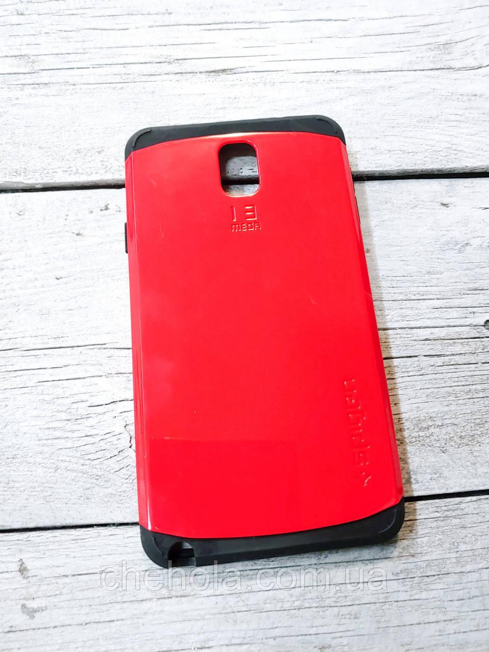 SGP Силиконовый Чехол для Samsung Galaxy galaxy note 3 накладка бампер противоударный красный
