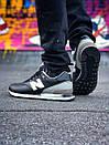 Чоловічі кросівки New Balance 574 з шкіри, фото 7
