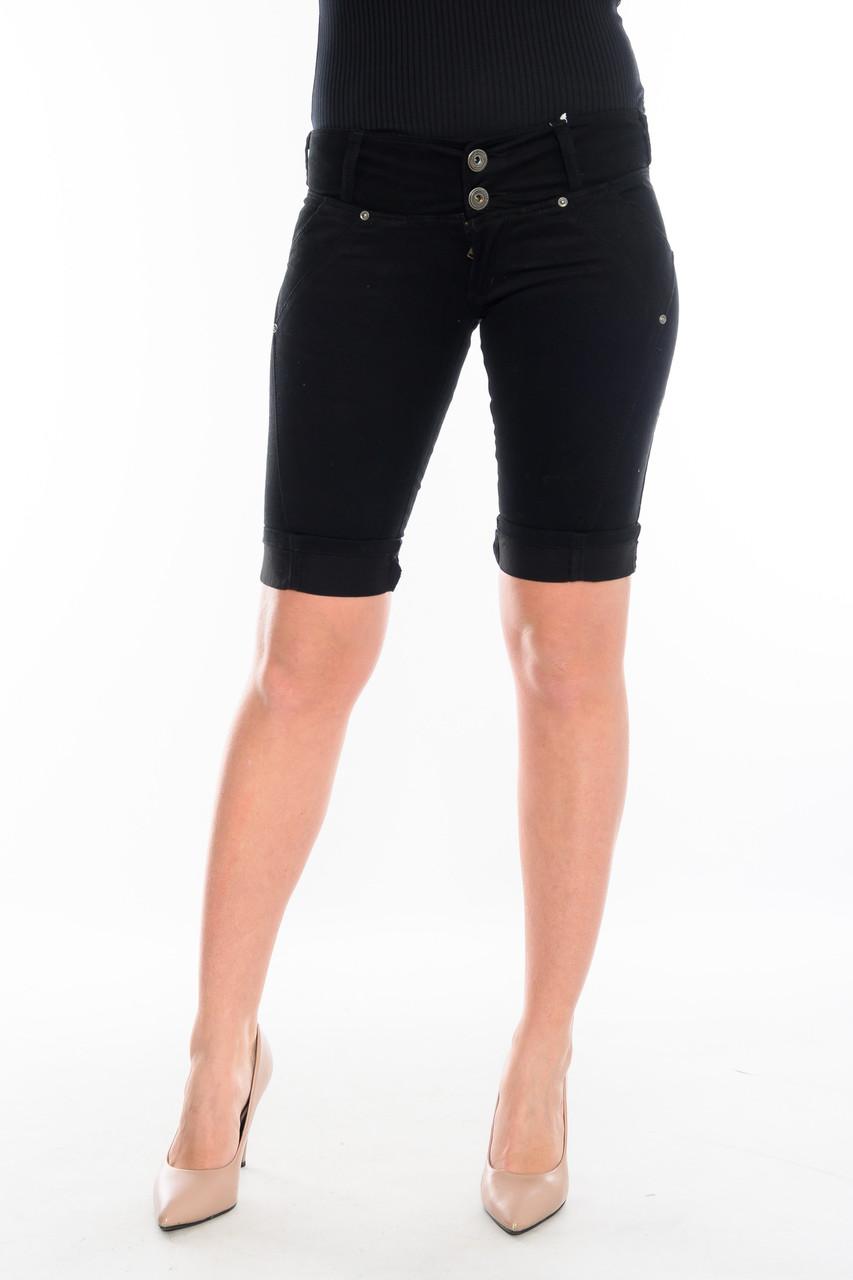 Женские шорты OMAT 1521 черные