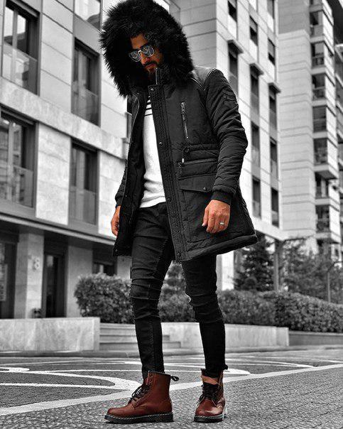 Куртка мужская, зимняя, до - 10