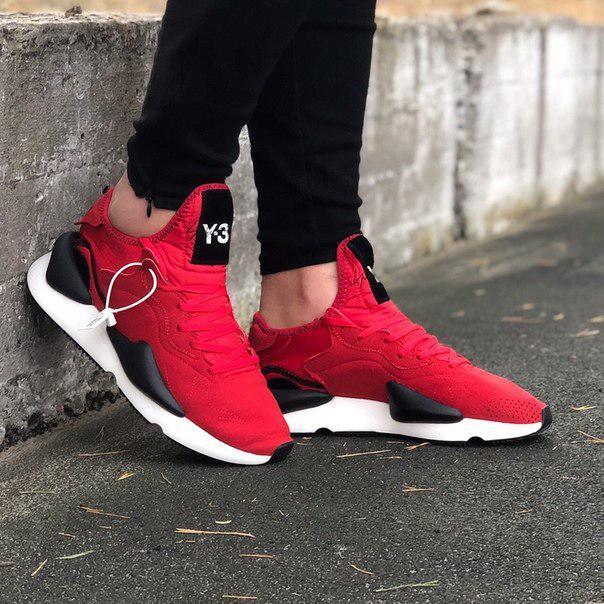 Мужские кроссовки Adidas Y-3 Kaiwa Red