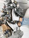 Женские белые ботинки Dr. Martens 1460 White Fur, фото 5