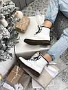Женские белые ботинки Dr. Martens 1460 White Fur, фото 8