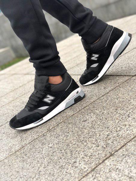 Замшевые мужские кроссовки NEW BALANCE 1500