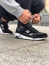 Замшевые мужские кроссовки NEW BALANCE 1500, фото 7