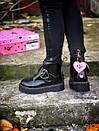 Жіночі черевики Dr. Martens з натуральної шкіри, фото 4