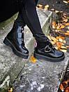 Жіночі черевики Dr. Martens з натуральної шкіри, фото 6