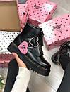 Жіночі черевики Dr. Martens з натуральної шкіри, фото 10