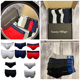 Набор брендовых мужских брифы + носки Tommy Hilfiger