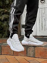 Мужские кроссовки  Аdidas X9000L4 белые (копия)
