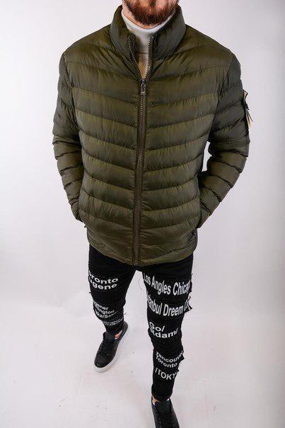 Мужская демисезонная куртка, три цвета