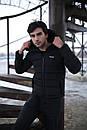 """Зимняя Куртка Intruder черная """"Impression"""", фото 2"""