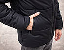 Куртка мужская зимняя черная Glacier Intruder, фото 4