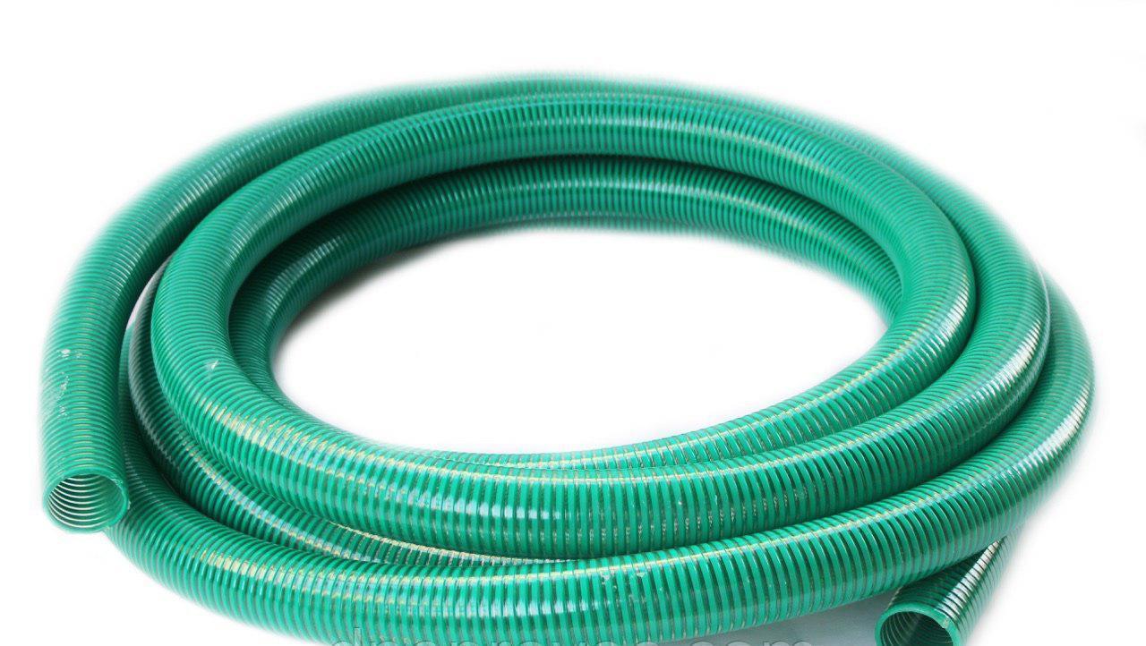 Гофра напорно-всасывающая зеленая Ø40мм - 10м TM EvciPlastik