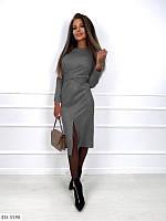 Елегантне замшеве плаття 043 В / 01, фото 1