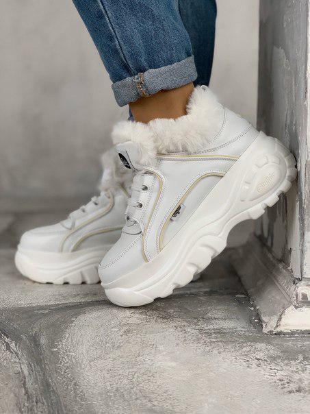 Женские кроссовки-ботинки Buffalo Рефлективные вставки
