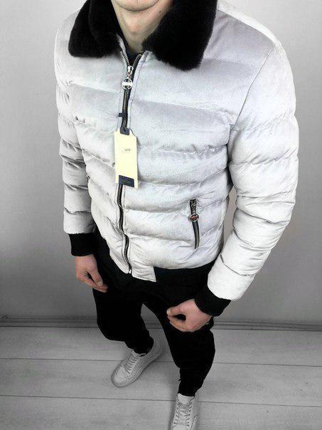 Мужская утепленная зимняя куртка, до -15 (два цвета)