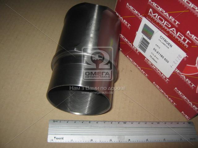 Поршневая гильза PEUGEOT 405 1,4 TU3 (пр-во Mopart)