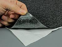 Карпет автомобильный Графит самоклейка (лист 74х100 см), толщина 3.5 мм, плотность 500 г/м2