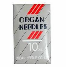 """Голки для оверлока """"Organ original"""" DCx27 розм. 70-110"""