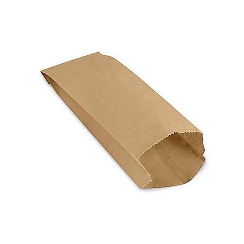 Пакет паперовий крафт, 80*170*40 мм, 100 шт/уп., 20 уп/ящ.