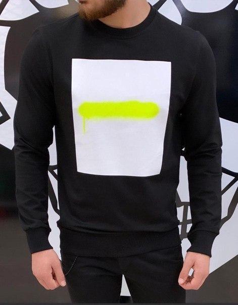 Мужской спортивный свитшот, три цвета