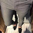 Стильные качественные мужские брюки, Турция, фото 5