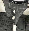 Мужские брюки, крупная клетка, Турция, фото 3