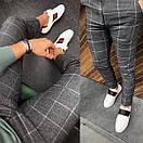 Мужские брюки, крупная клетка, Турция, фото 5
