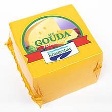 Сыр полутвердый Гауда Ser Gouda Krasnystaw, 1кг