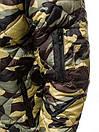 Чоловічий демісезонний бомбер камуфляжного забарвлення, фото 4