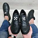 Чоловічі шкіряні туфлі Off White, фото 2