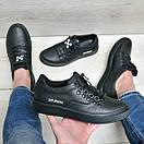 Мужские кожаные туфли Off White, фото 6
