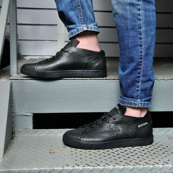 Шкіряні чоловічі туфлі Diezel