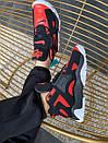 Чоловічі стильні кросівки Nike Air Barrage Mid QS University Black Red White, фото 5