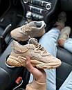 Жіночі кросівки Adidas Ozweego Beige з рефлективом, фото 9