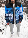 Пуховик чоловічий Supreme x The North Face Nuptse 700 Mountain, фото 2