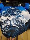 Пуховик чоловічий Supreme x The North Face Nuptse 700 Mountain, фото 7