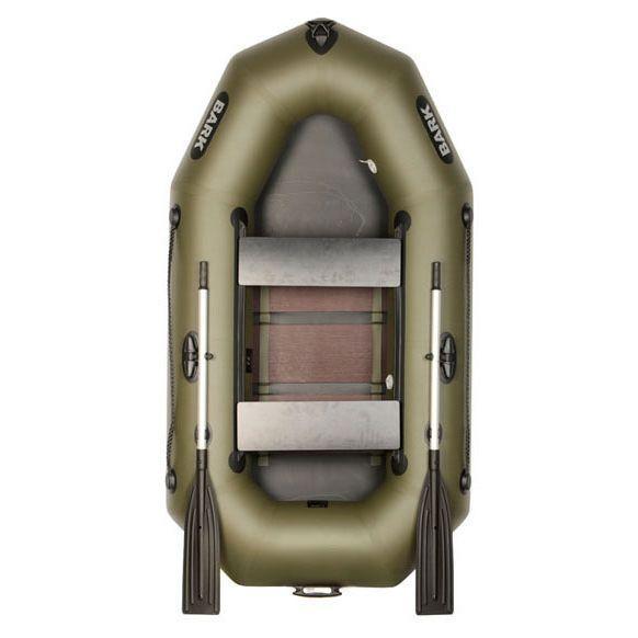 BARK B-230D Надувная двухместная гребная ПВХ лодка Барк
