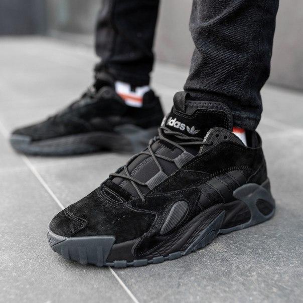 Чоловічі замшеві кросівки Adidas streetball Топ якість