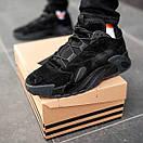 Чоловічі замшеві кросівки Adidas streetball Топ якість, фото 8