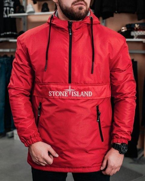 Чоловіча весняна куртка-анорак (2 кольори)