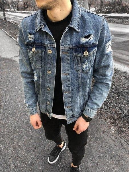 Чоловіча весняна джинсовці, Висока якість!