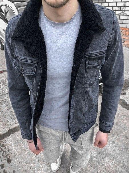 Джинсовий демісезонний чоловічий піджак (джинсовці)