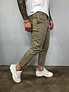 Чоловічі літні завужені брюки, два кольори, фото 7