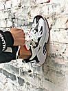 Чоловічі чорно-білі кросівки Reebok амортизуюча підошва DMX, фото 9